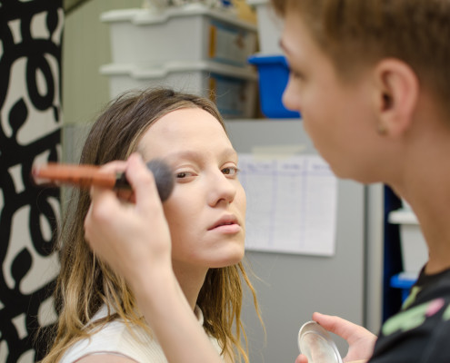 Emilia-Rosa Tamara von Heiseler, makeup für video, makeup artist stuttgart